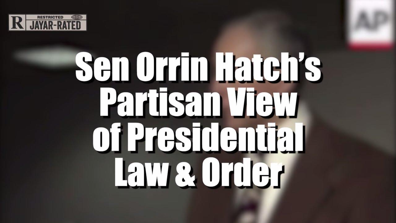The Hypocrisy of Orrin Hatch thumbnail