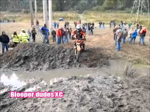 2014 GNCC powerline park creek jump bloopers by Blooper dudes