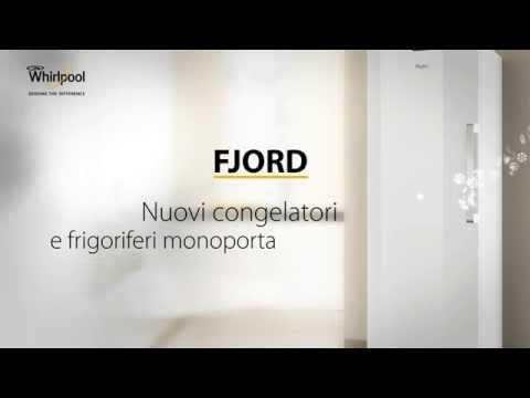 Nuovi congelatori verticali e frigoriferi monoporta Whirlpool Fjord