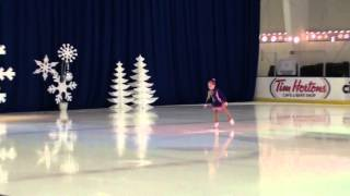 Lizzie Skating - Once Upon a December /Christmas 2015