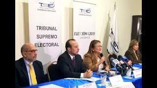 Procuradora suscribe junto a TSE y partidos políticos Pacto para consolidación de la democracia