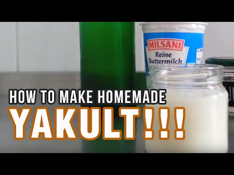Video How To Make Your Own Yakult (Homemade Yakult) Easy Steps!