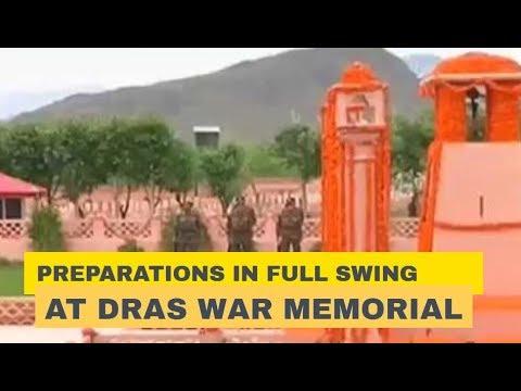 Preparations in full swing at Dras War Memorial for Kargil Vijay Diwas