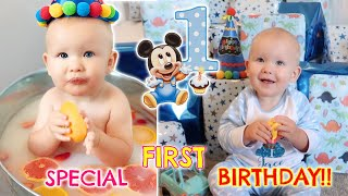 A SPECIAL 1st BIRTHDAY - OPENING PRESENTS!