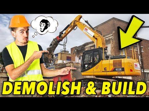 Ničíme budovy! │ Demolish & Build simulator 2018