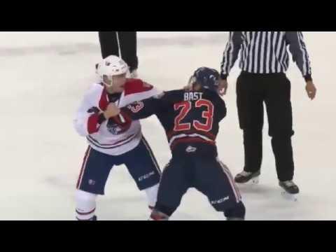 Spencer Bast vs. Riley McKay