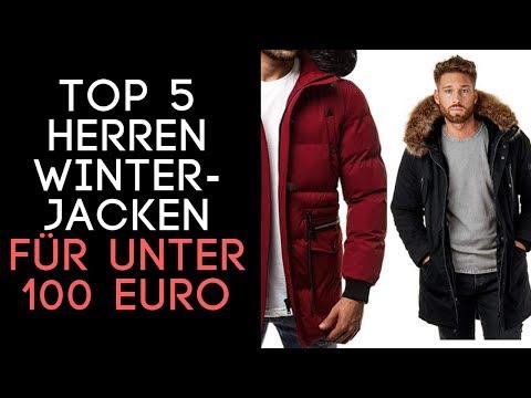 Beste Herren Winterjacken 2018 für unter 100 EURO!  TOP 5 Auf Amazon  - Review
