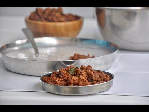 Muthira Puzhukku /Muthira Ularthiyathu /Muthira Thoran/Horse Gram Stir Fry