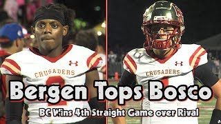 Bergen Catholic 23 Don Bosco Prep 17 | Week 3 Highlights | Crusaders Win Fourth Straight vs. Ironmen
