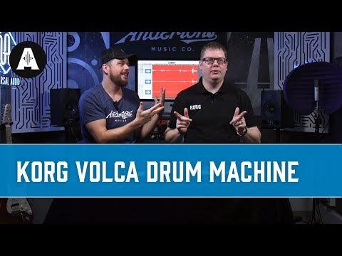The Korg Volca Drum - A Portable Modular Powerhouse Drum Synth!