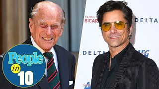 Prince Philip Honored by Grandsons William and Harry Plus John Stamos Joins Us | PEOPLE in 10