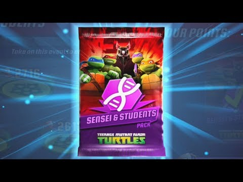 Teenage Mutant Ninja Turtles: Legends - SENSEI & STUDENTS Pack