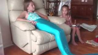 H2o-просто добавь воды, Me opening my mermaid tail