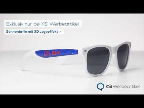 KSi Werbeartikel - Sonnenbrille mit 3D-Druck - KSi International GmbH