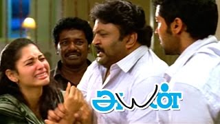 Ayan | Ayan Movie scenes | Surya hits Akashdeep Saighal | Prabhu Advices Surya | Surya gets Arrested