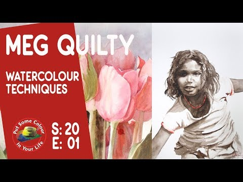 How to paint watercolour animals with Meg Quilty | Colour In Your Life