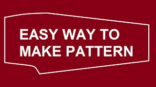How To Make Patterns From Your Clothes
