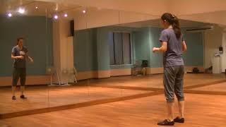 玲実先生のダンスレッスン〜リズム練習〜色んなリズムステップを知る①のサムネイル