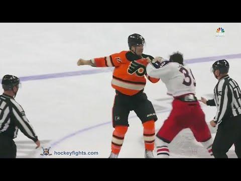 Brayden Schenn vs. Michael Chaput