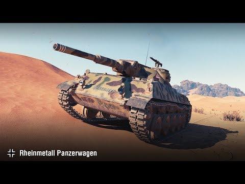 WoT Replays Wunschkonzert Rheinmetall Panzerwagen Die Stunde