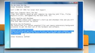 How to Cut-Copy-Paste or Delete text and print a Notepad document