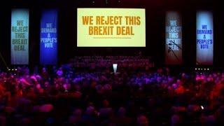 Des militants anti-Brexit à Londres deux jours avant le vote