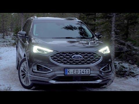 Ford  Edge Кроссовер класса J - тест-драйв 1