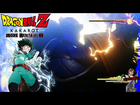 Dragon Ball Z Kakarot Mods - Midoriya vs Thanos