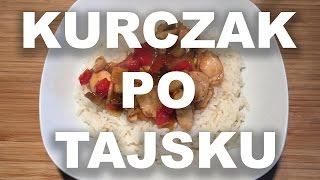 Kurczak po tajsku z orzechami nerkowca | www.bellabis.pl