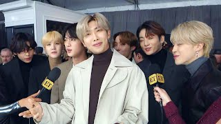 Bts Gushes Over Ariana Grande  Grammys 2020