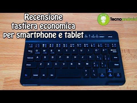 Mini tastiera Bluetooth per smartphone e tablet - Recensione