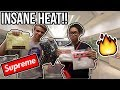 INSIDE THE MOST EXPENSIVE SUPREME STORE!! (They have CRAZY HEAT!)