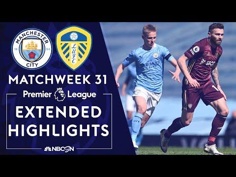 Manchester City v. Leeds United | PREMIER LEAGUE HIGHLIGHTS | 4/10/2021 | NBC Sports