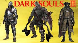 Dark Souls 3: Las Clases Iniciales Explicadas!