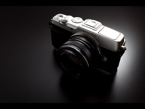 [Unboxing] Olympus E-P5 (Silver)+M.ZD 17mm f1.8+VF4 kit