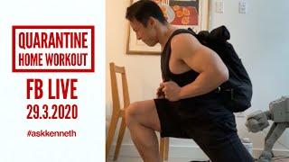 Quarantine Home Workout | Leg Day for Hypertrophy