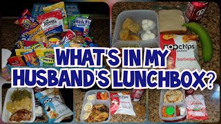 👨💼Husband Work Lunch Ideas🍔 | What's in my HUSBAND'S lunchbox?🥪