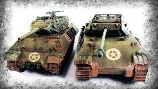 Как Немцы Превратили Пантеру В ПТ-САУ США?
