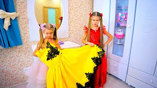 Valentines Day. Dresses And Makeup For Princesses.
