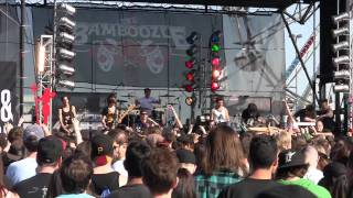 Abandon All Ships - Take One Last Breath (Maria I Like it Loud intro) Live HD Bamboozle 2011