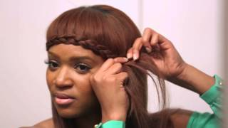 Angela Christine | Get The Look | The Braided Bang