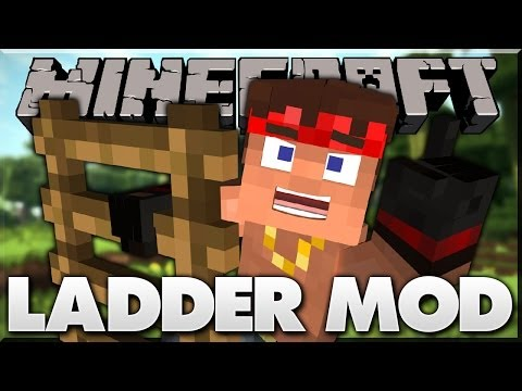 Minecraft Mods | Luppii's Ladders Mod | Amazing new Ladders! | Minecraft Mod Spotlight