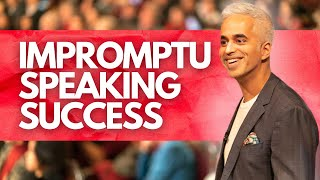Impromptu Speech Tips: Speaking Without Any Preparation