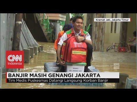 Banjir Masih Genangi di Beberapa Wilayah Jakarta