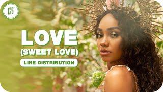 Little Mix ~ Love (Sweet Love) ~ Line Distribuion