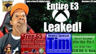 Xbox Entire 2018 E3 Leaked!