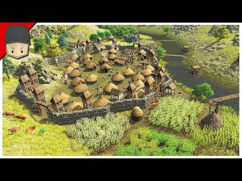 DAWN OF MAN – FARMS & DOMESTICATED ANIMALS! – Ep.04 (Survival/City Builder)