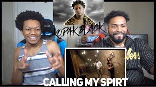 Kodak Joins The Illuminati!? KODAK Black   Calling My Spirit   FVO Reaction