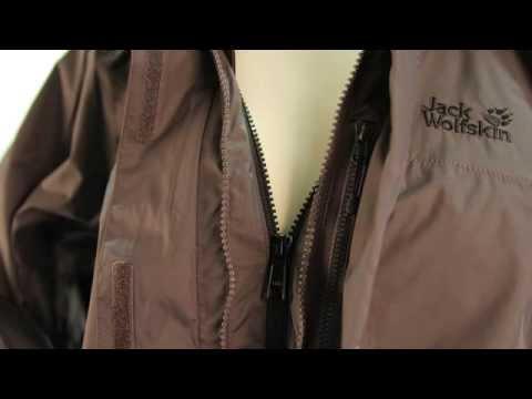 Jack Wolfskin Onyx Jacket, Women, dark steel - grau