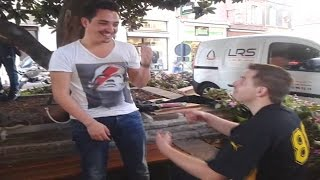 preview picture of video 'Mon Hypnose à Albi : Clément 27/09/2014.  (Street Hypnose) HD'
